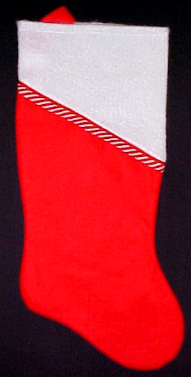 Candy Cane Christmas Stocking is Back!
