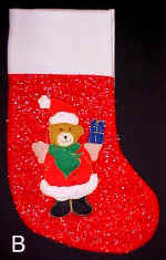 Bear x-mas Stocking
