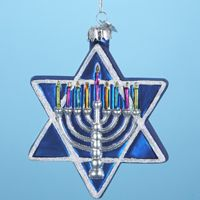 Jewish Star Hanukkah Ornament