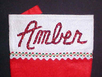 Red Glitter Names are Personalized Free
