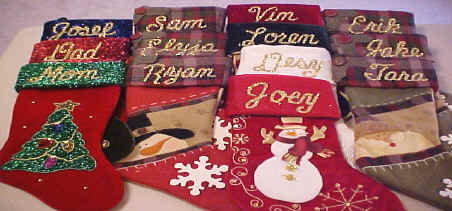 Specialty Christmas Stockings Personalized Free